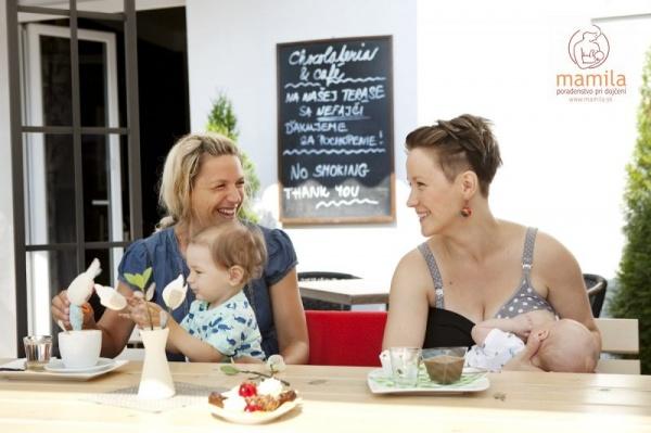 Podpůrná skupina kojení - matky